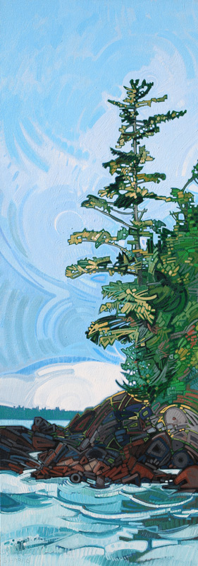 "Image of painting: ""Broken Islands - Nineteen"""