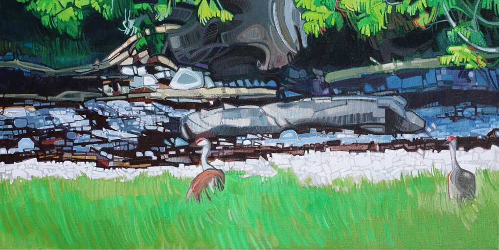 "Image of painting: ""Great Bear Rainforest - Six"""