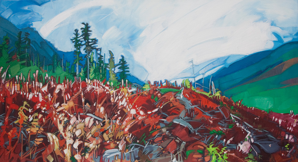 "Image of painting: ""Hurley Pass - Ten"""