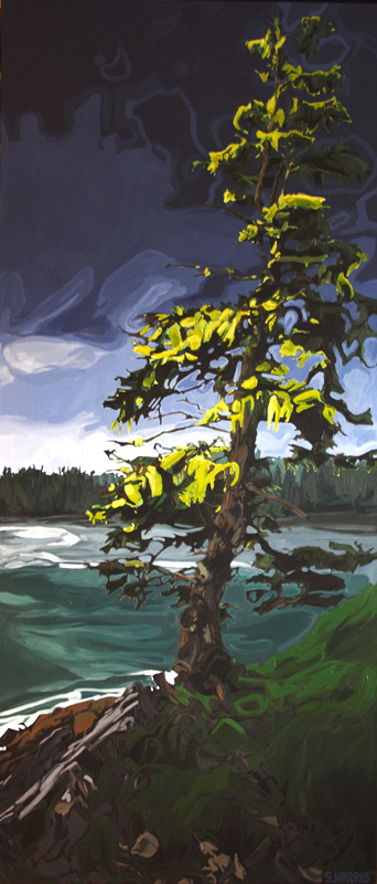 "Image of painting: ""Lone Tree - One"""