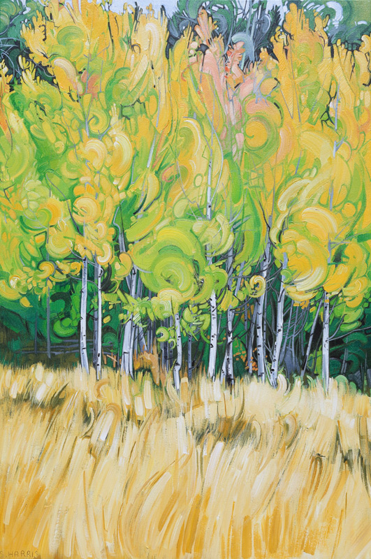 "Image of painting: ""Lundbom - Fifteen"""
