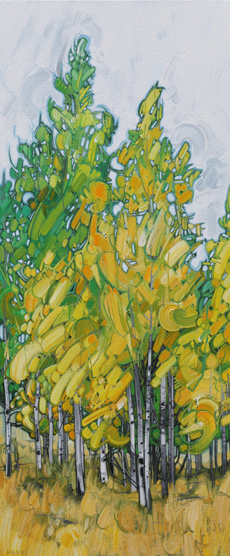 "Image of painting: ""Lundbom - Eighteen"""