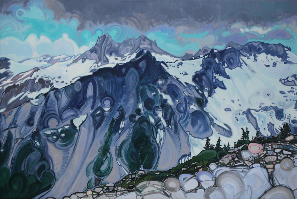 "Image of painting: ""View Of Mount Fee - One"""