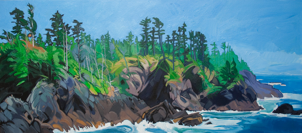 "Image of painting: ""Nootka Island - One"""