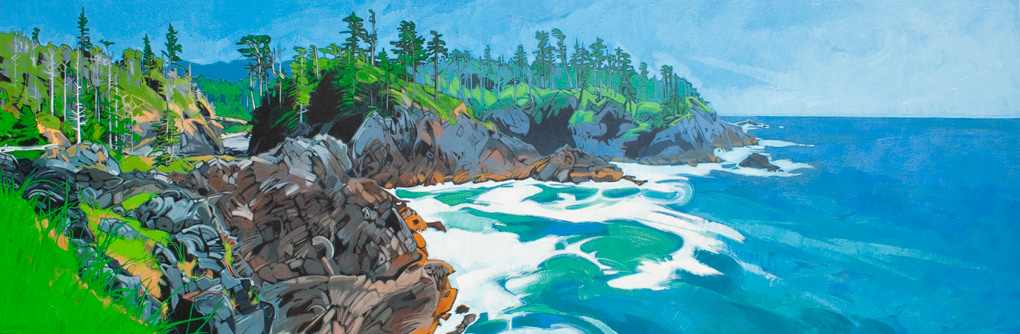 "Image of painting: ""Nootka Island - Four"""