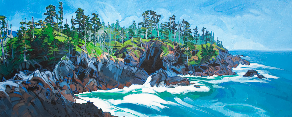 "Image of painting: ""Nootka Island - Five"""