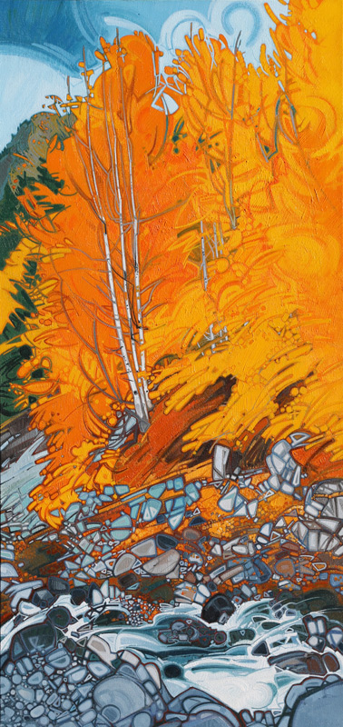 "Image of painting: ""MacKenzie Beach - Twelve"""