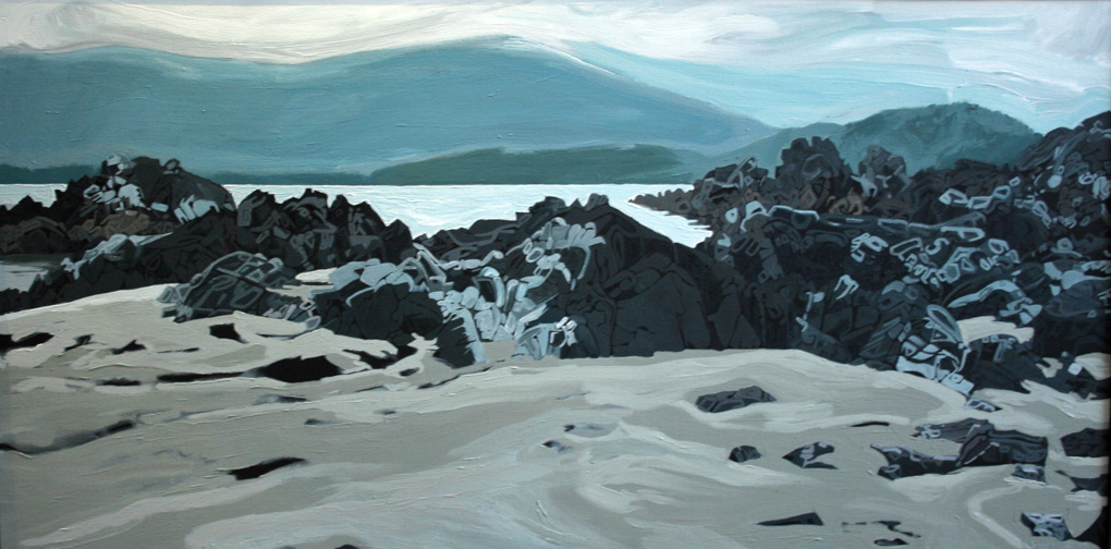 "Image of painting: ""Rocky Beach"""