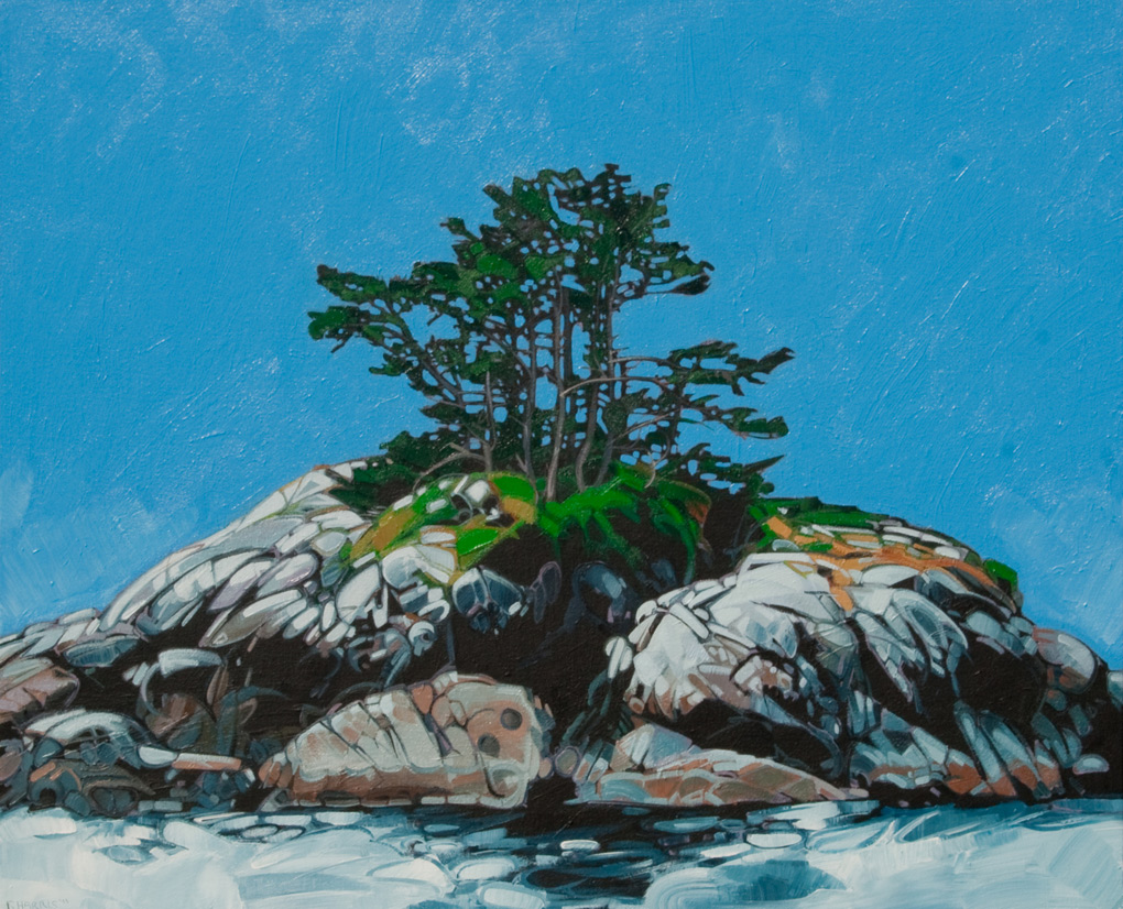 "Image of painting: ""Sunny Island - Two"""