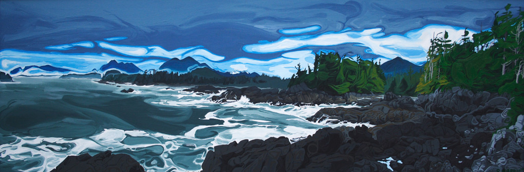 "Image of painting: ""Westcoast - One"""