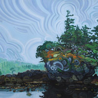 "Link to full size image of ""Haida Gwaii - Two"""
