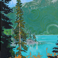 "Link to full size image of ""Joffre Lakes - Two"""