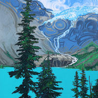 "Link to full size image of ""Joffre Lakes - Six"""