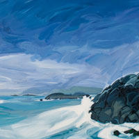 "Link to full size image of ""Stormy Island Wave"""